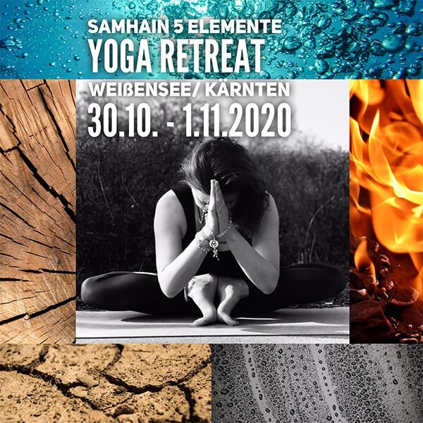 Samhain 5 Elemente Yoga Retreat