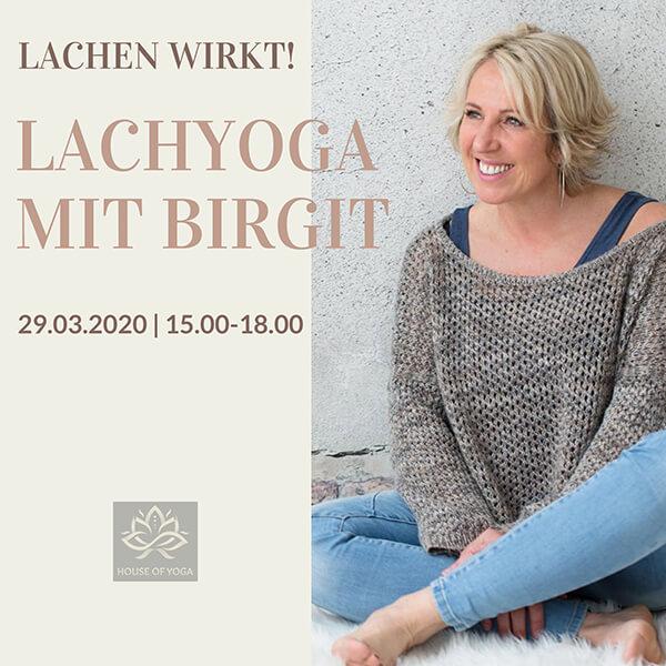 Lachyoga mit Birgit