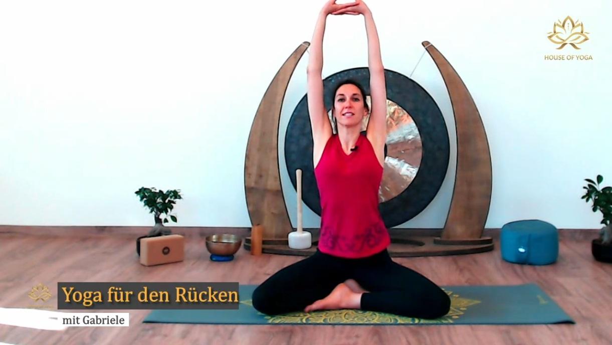 Yoga für den Rücken   House of Yoga