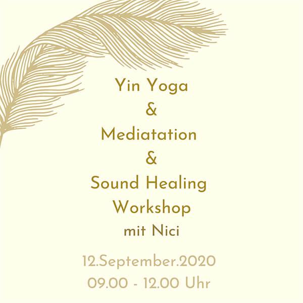 Yin Yoga & Sound Healing & Meditation