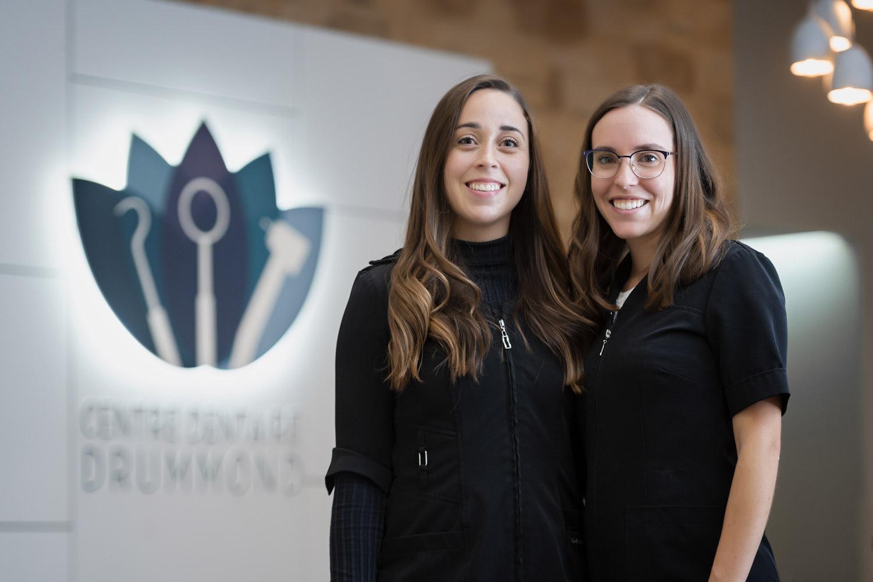 Centre dentaire Drummond - Une équipe dynamique