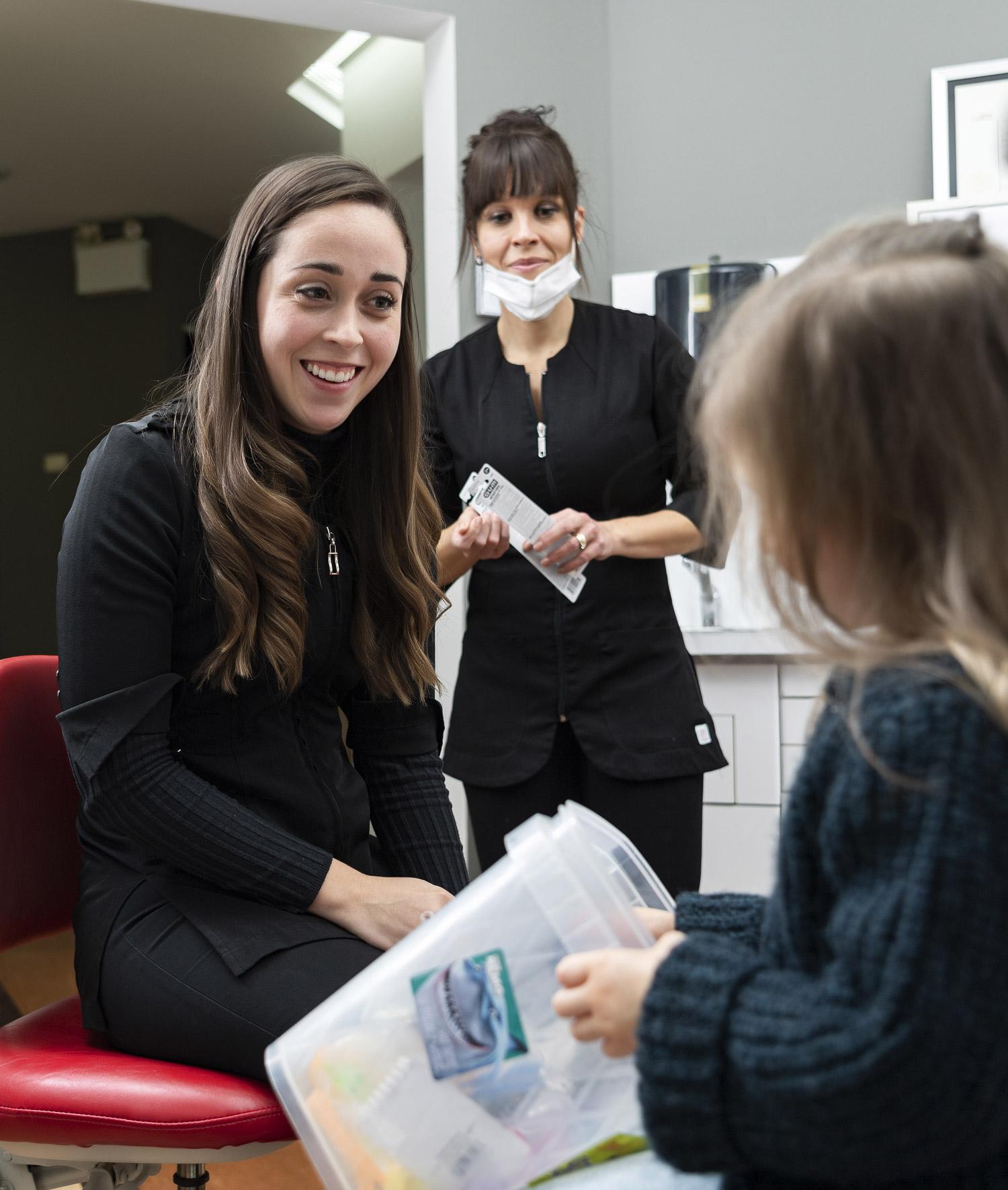 Centre dentaire Drummond - Contactez-nous
