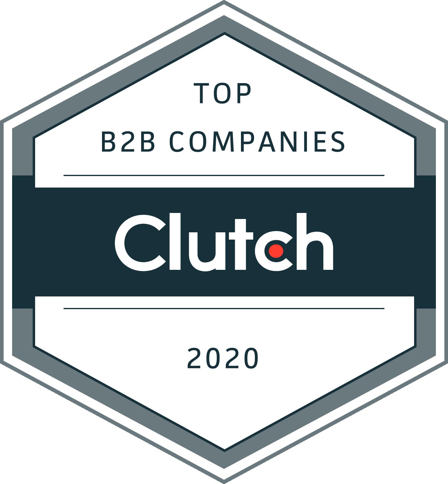 Top B2B Companies Clutch 2020