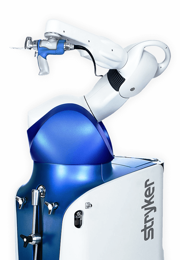 Mako Robotic-Arm Assisted Joint Surgery for Total Hip Replacement Total Knee Replacement and Partial Knee Replacement available at Steward Health Care Utah Orthopedics facilities Jordan Valley Medical Center