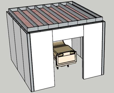 Prefabricated Healthcare pod