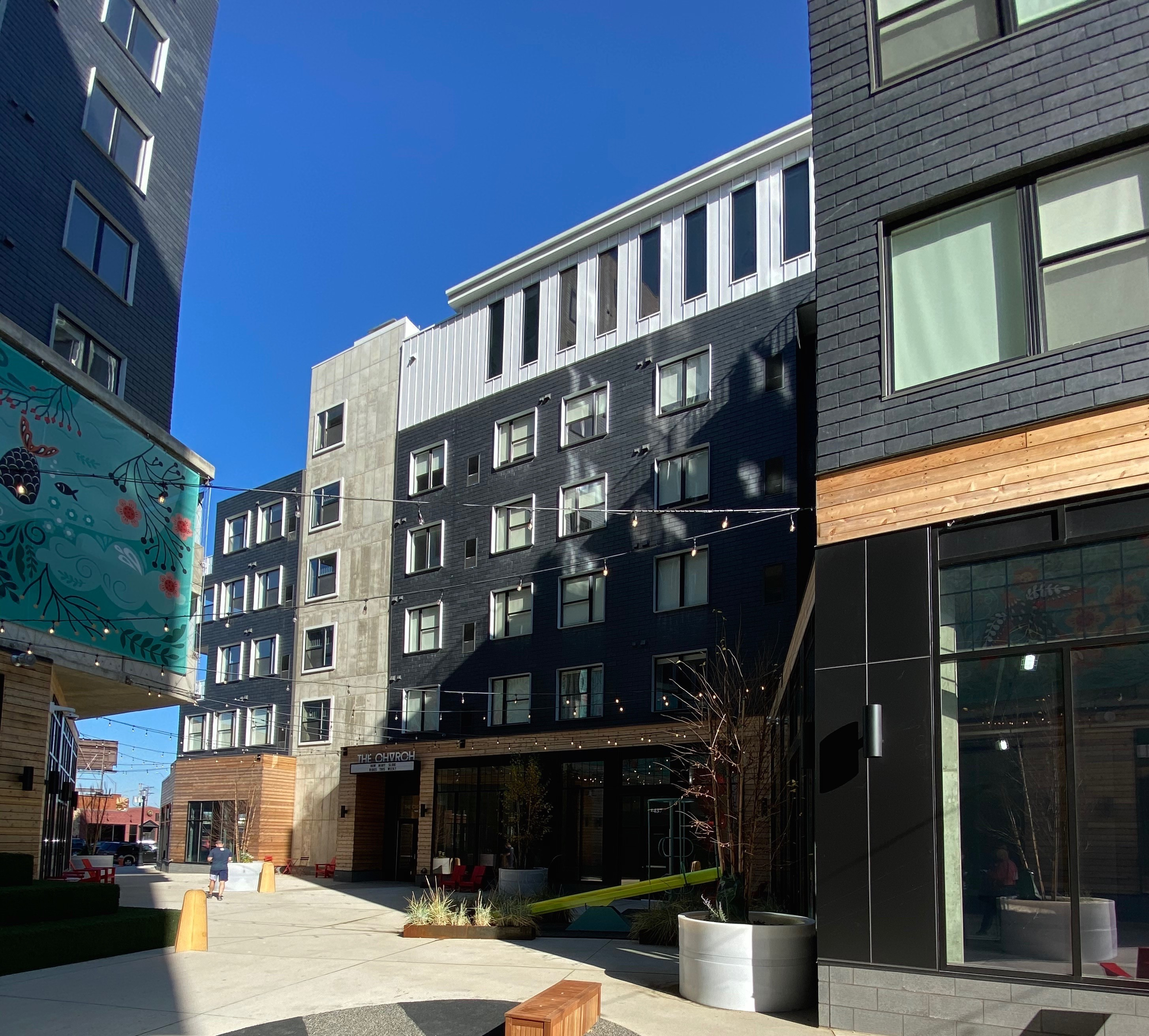 Panelized LEED Silver Certified Building
