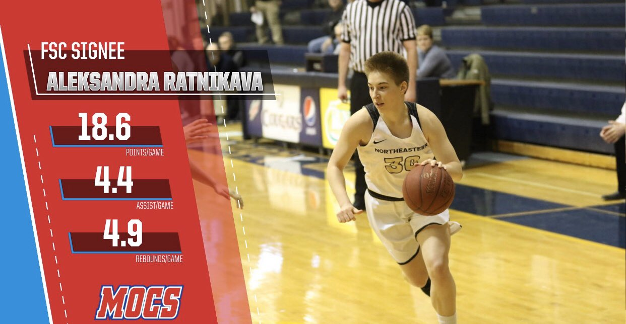 Aleksandra Ratnikava signs with Division 2 power Florida Southern
