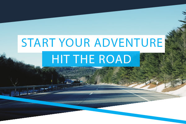 Start Your Adventure - Hit The Road