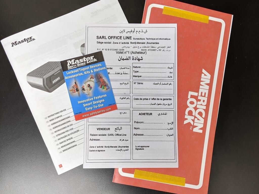 Instruction Sheets & Manuals