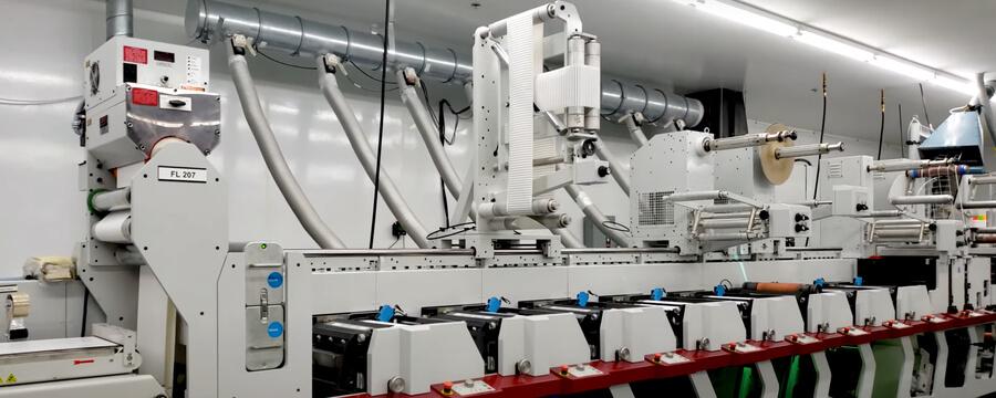 DRG Technologies: Custom label printing