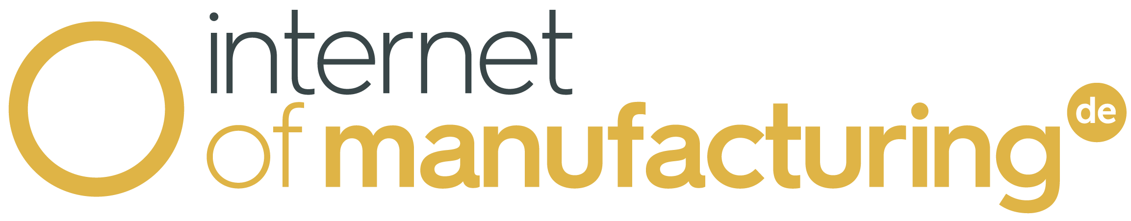 The Internet of Manufacturing conference logo