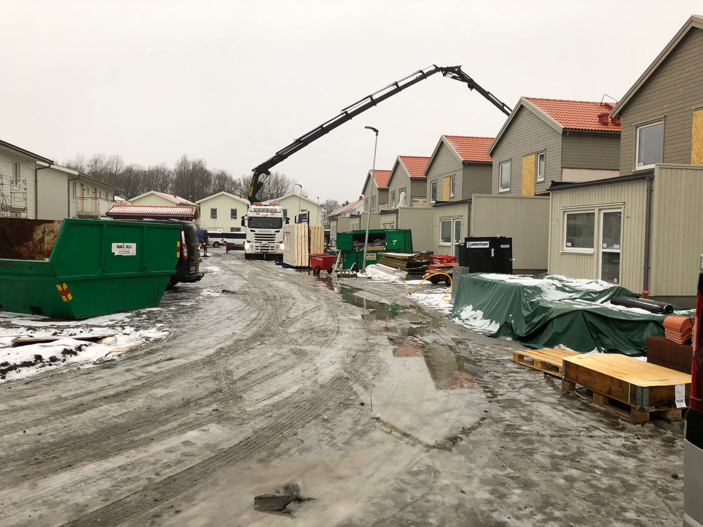 Kedjehus, Ytterby