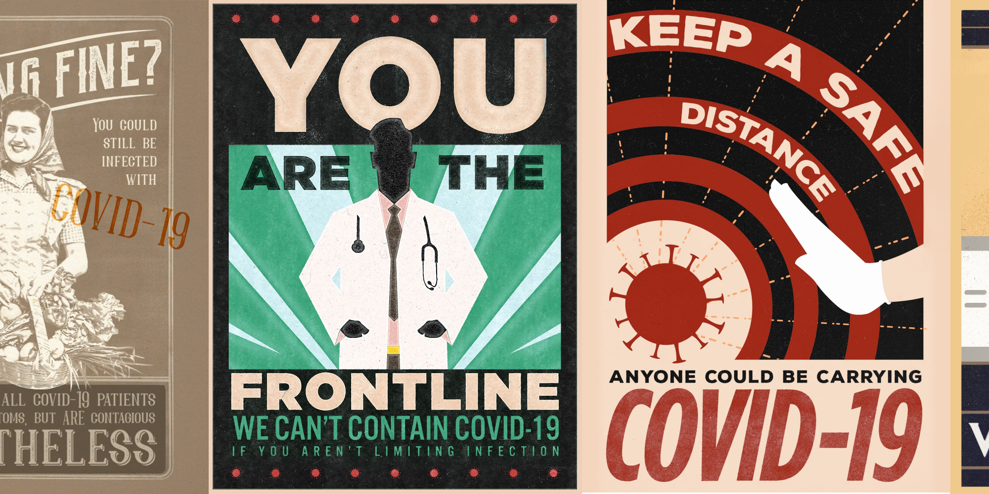"""Fight The Pandemic!"" Posters to Battle COVID-19"