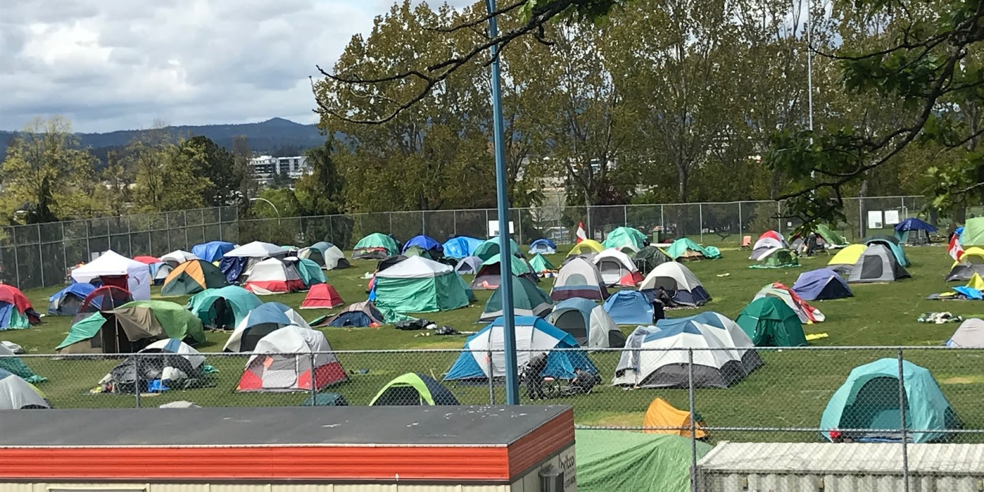 How Victoria's Topaz COVID-19 Homeless Camp Went So Horribly Wrong