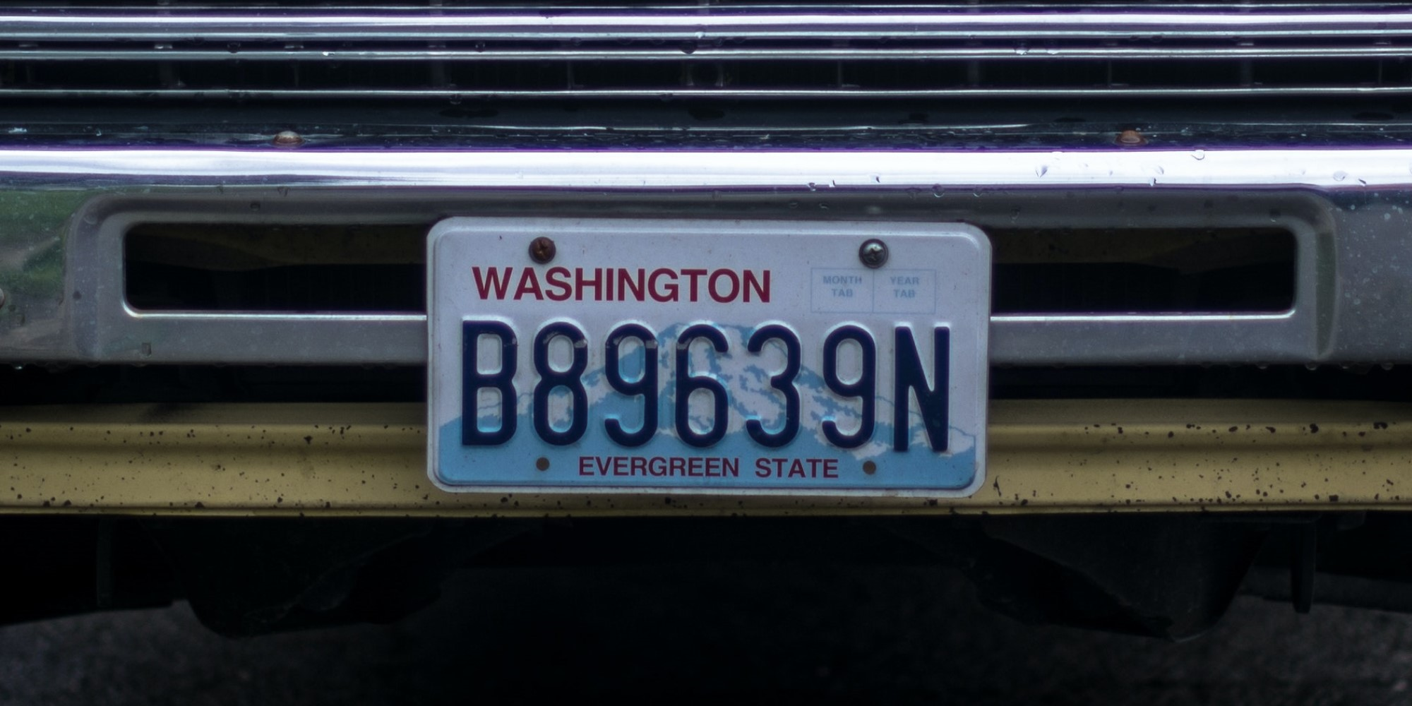 Where are all the US license plates coming from?