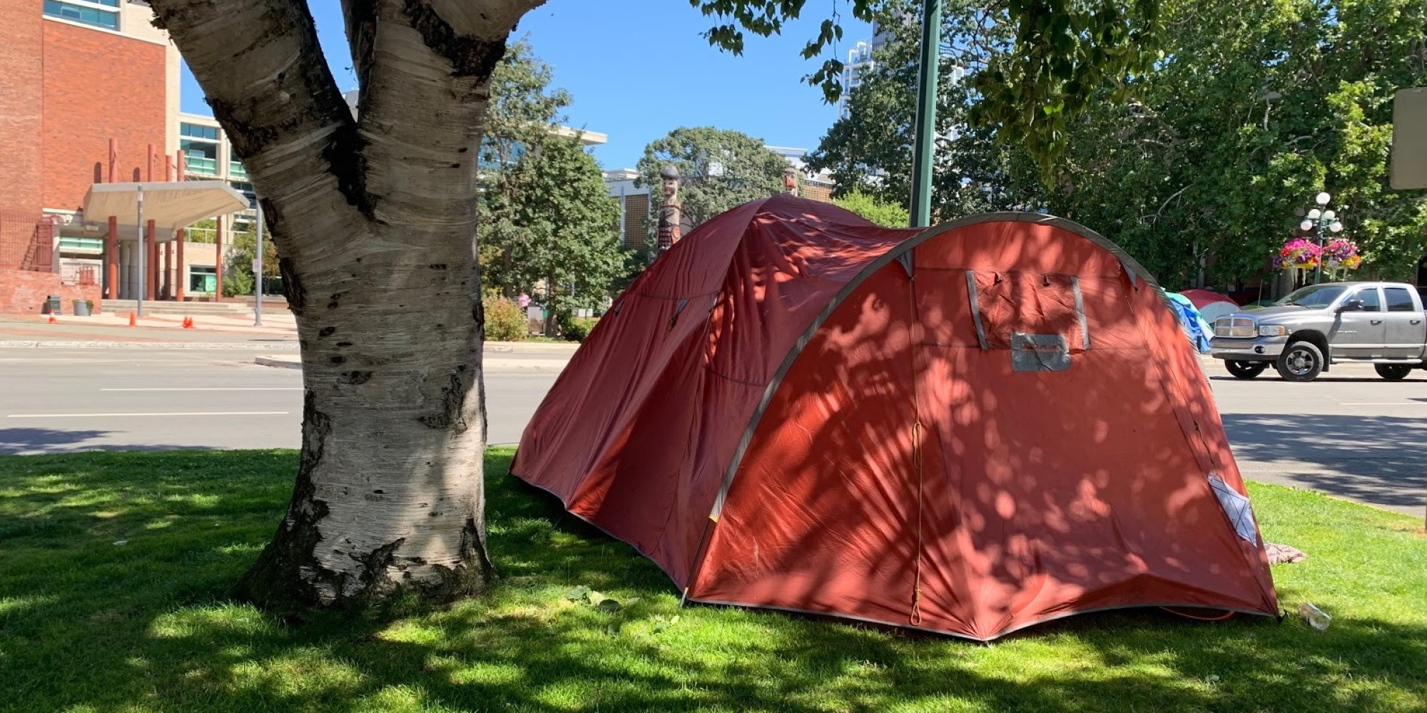 Where are Victoria's homeless coming from?