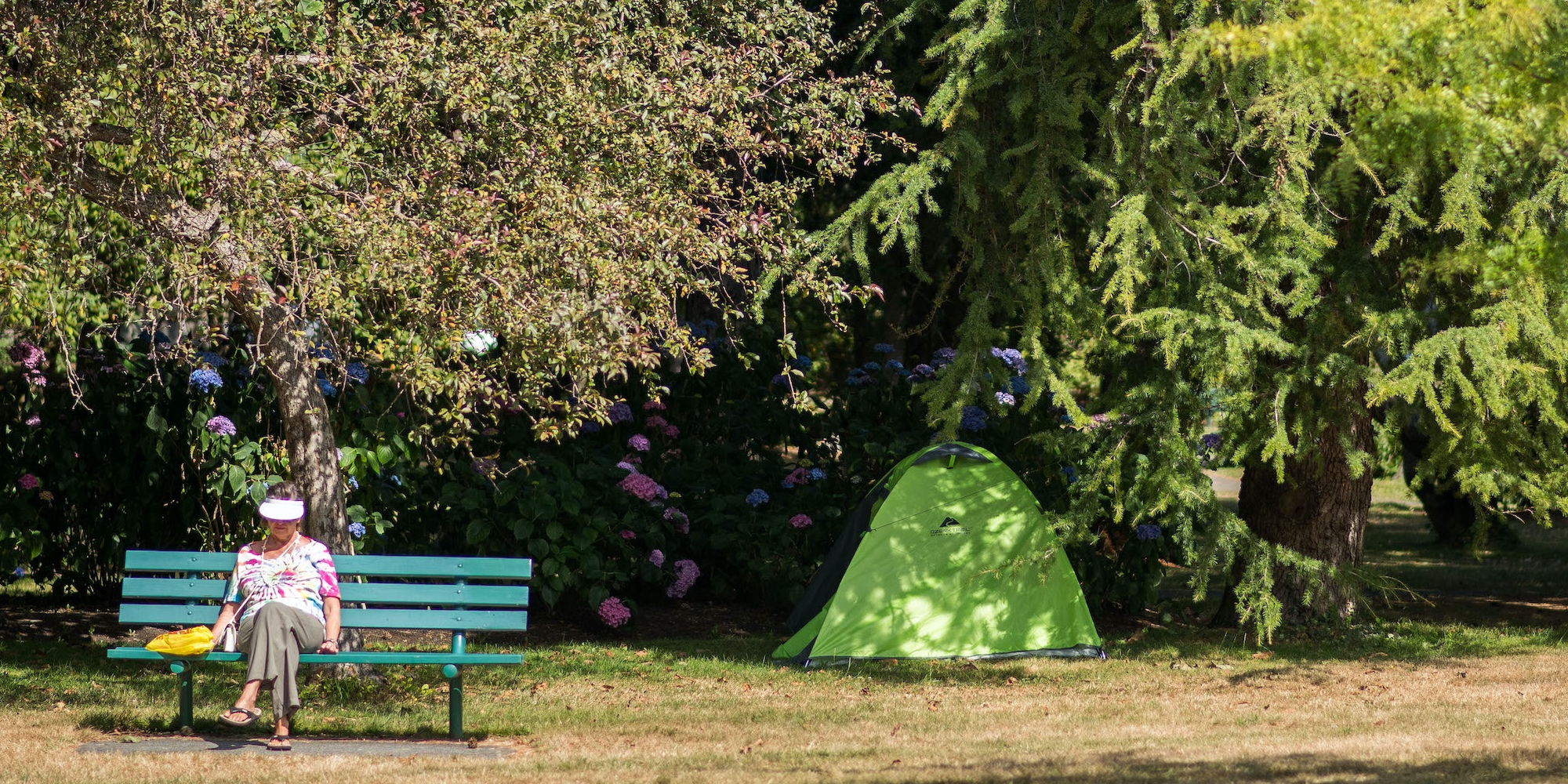 PHOTOS: Inside the tenting community at Beacon Hill Park