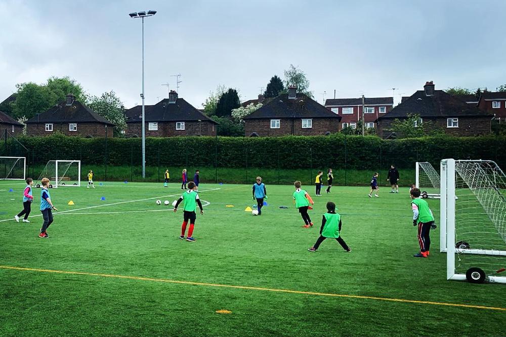 active kickers football training