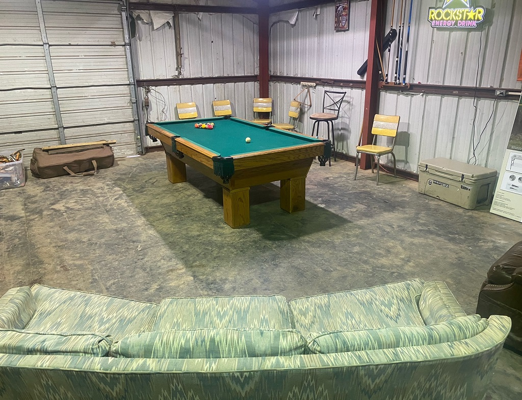 Augusta Lodge Game Room