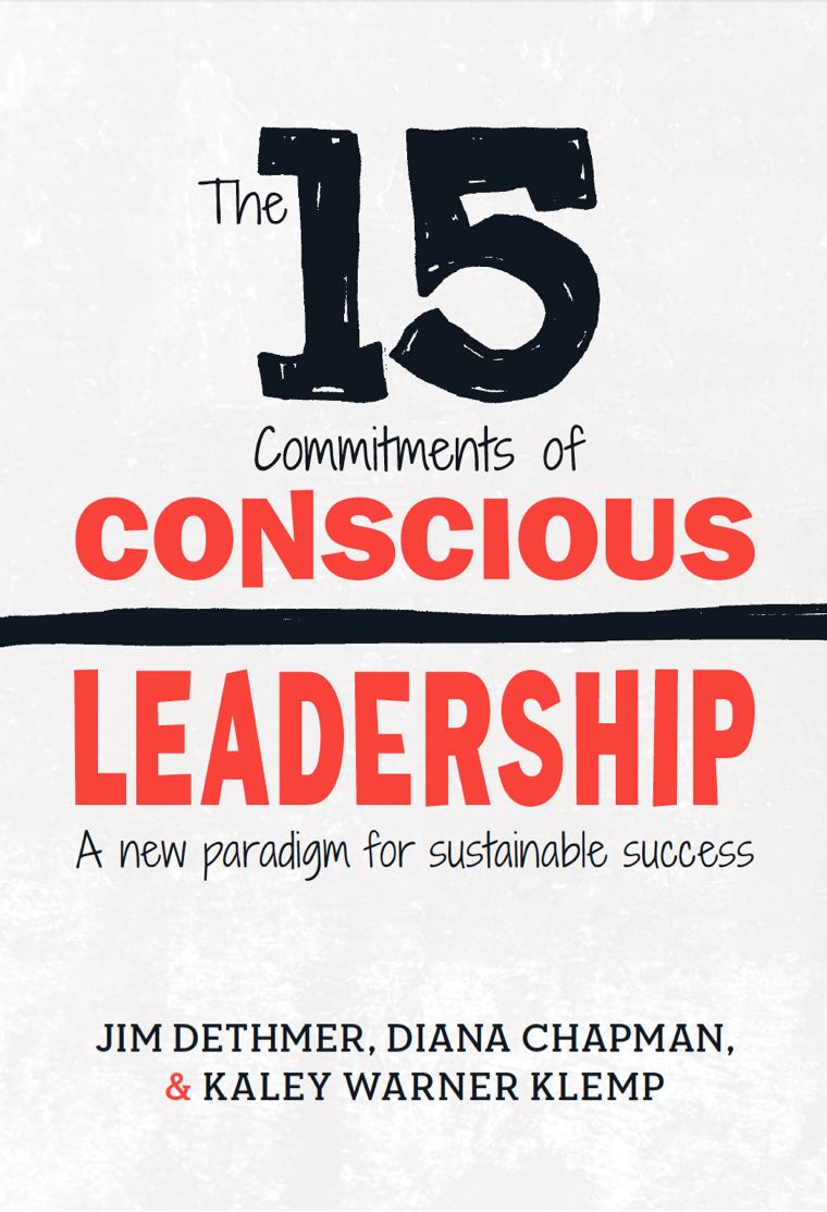 The 15 Commitments of Conscious Leadership Book Cover
