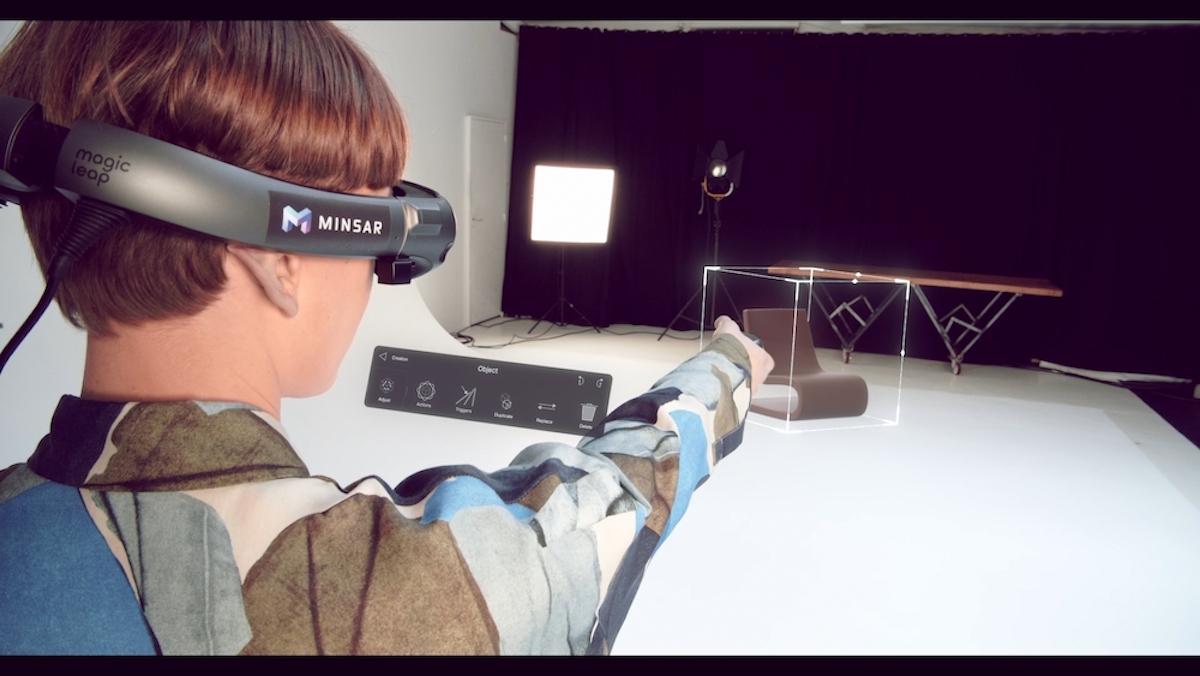 Minsar Studio on the Magic Leap - interior design use case