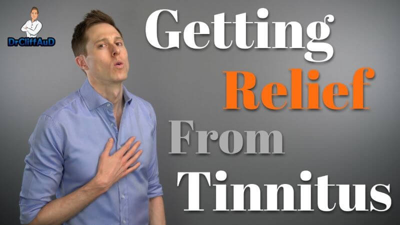 getting relief from tinnitus