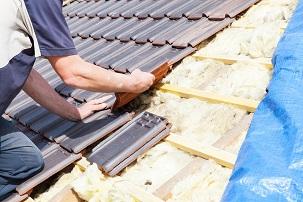 Nieuwe roofing op oude roofing