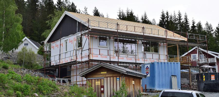 Bygge på huset