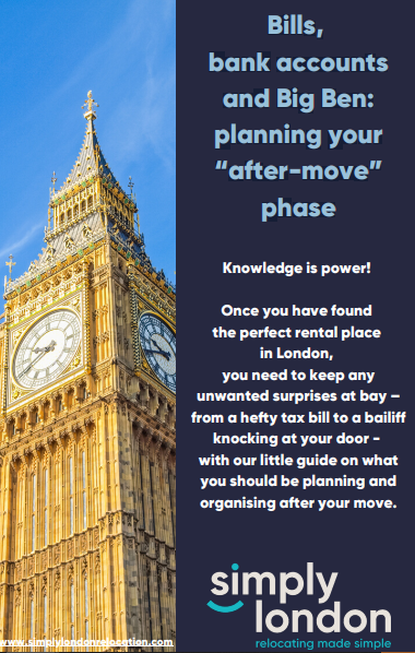 Guide to help you relocate to London