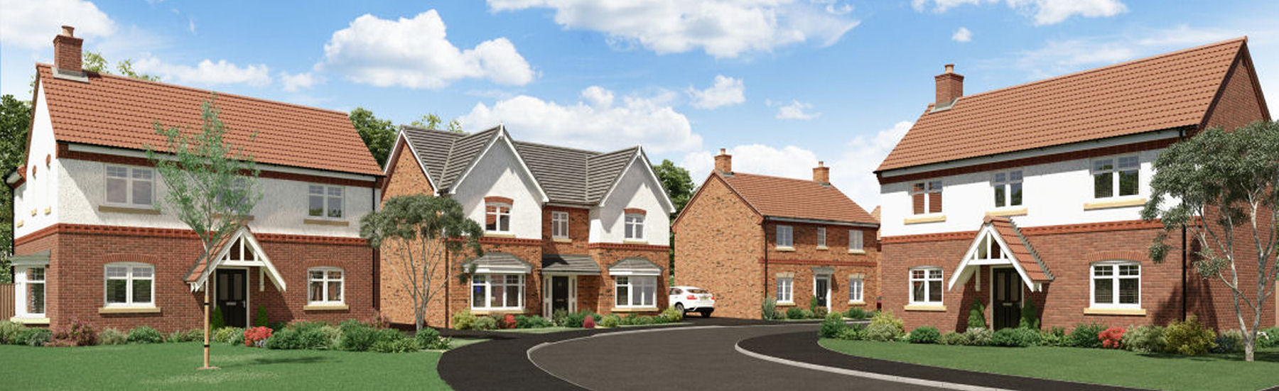 New build properties will make up the majority of homes in the First Homes scheme.