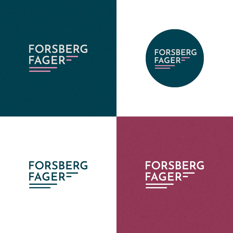 Forsberg Fager logotyper