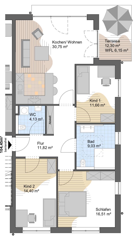 Haus D & F WE2
