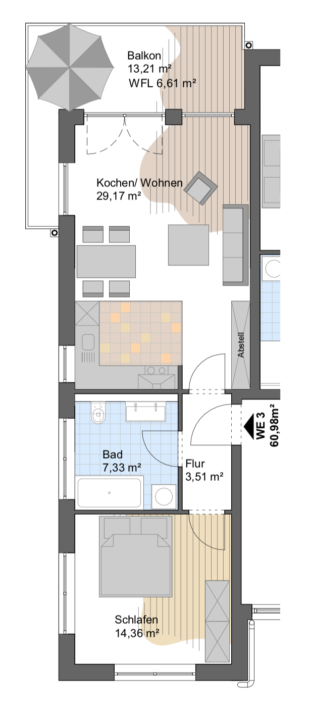 Haus D & F WE3