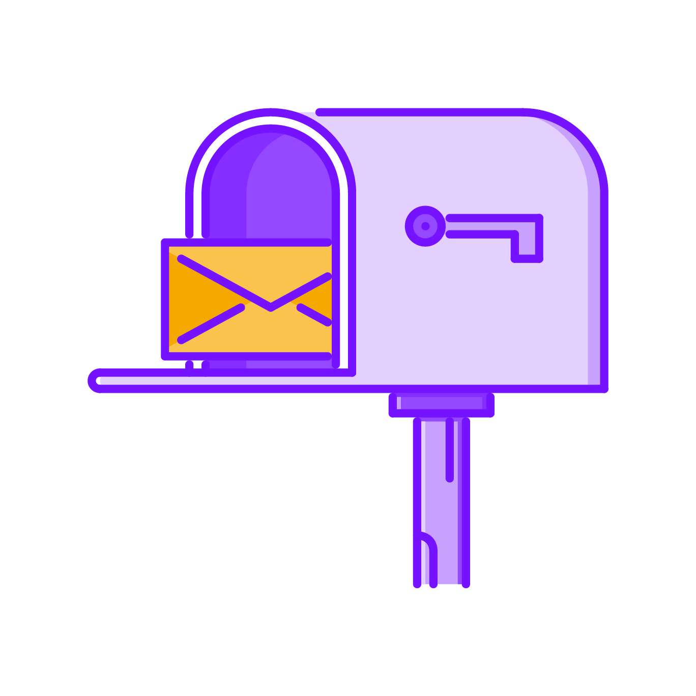 icon of mailbox