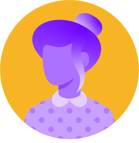 illustration of a woman