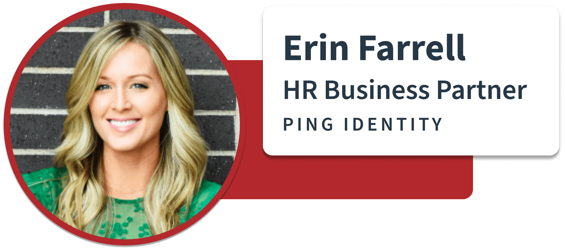 HR Business Partner at Ping Identity Sift quote