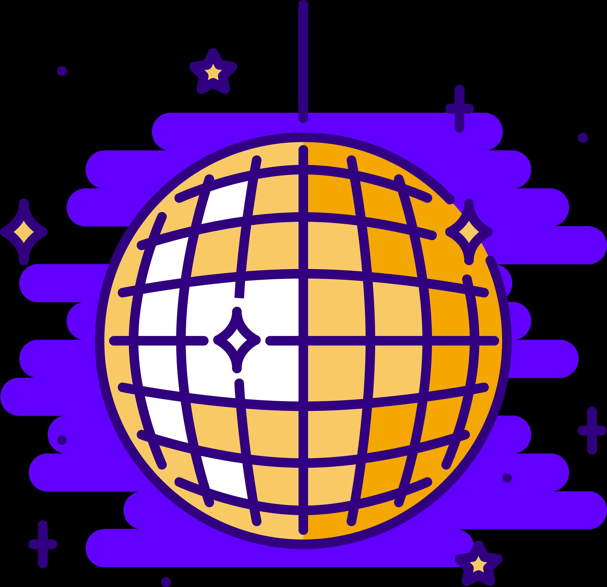 A discoball