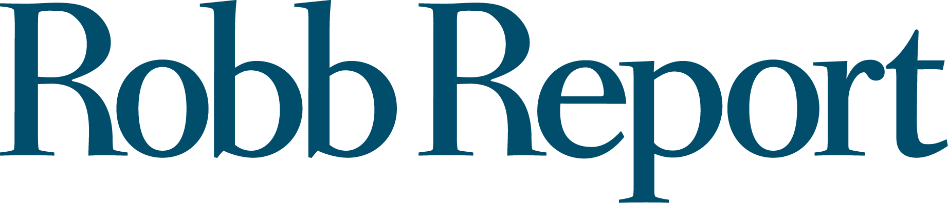 logo for Robb report
