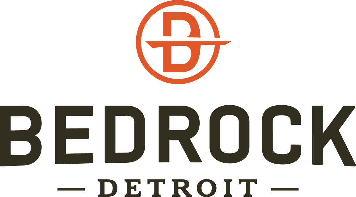 logo for bedrock Detroit