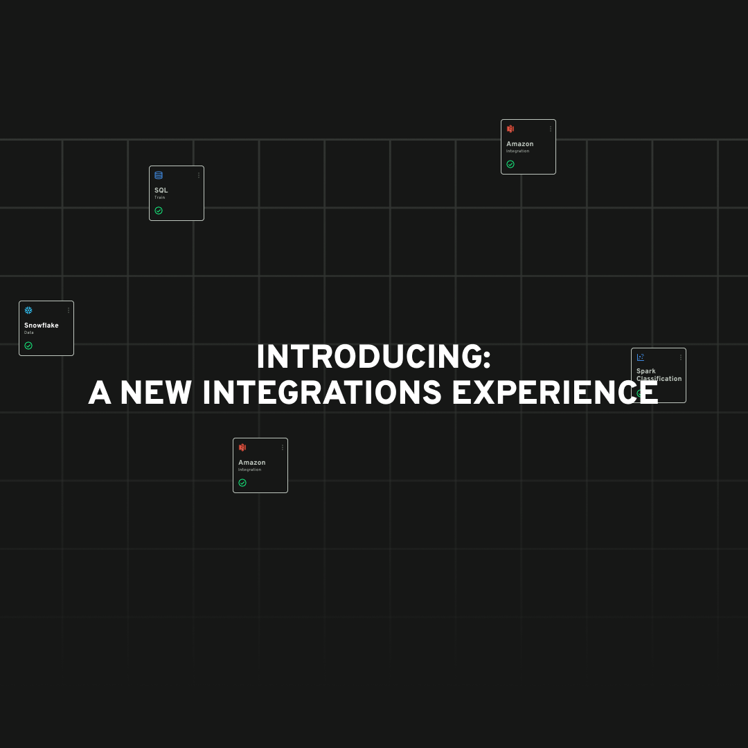 Introducing New Integration Experience