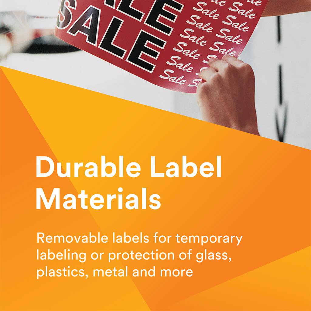 3M: Removable Durable Labels