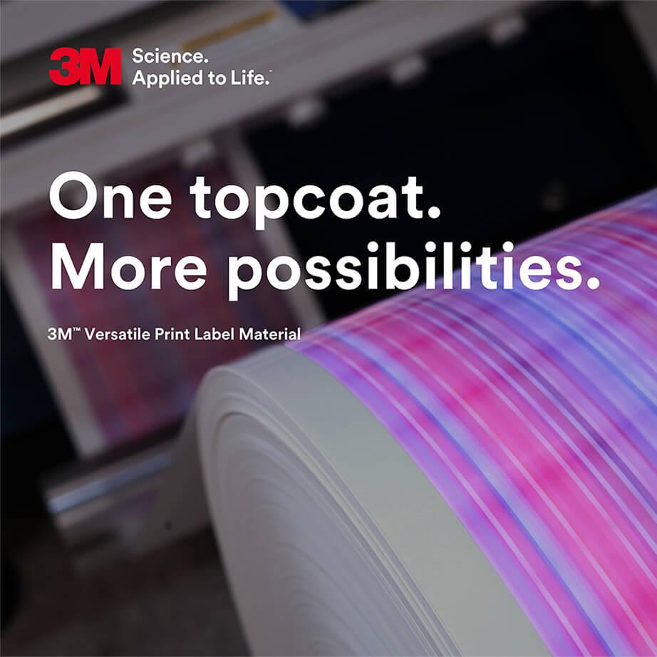 3M: Versatile Print Label Material