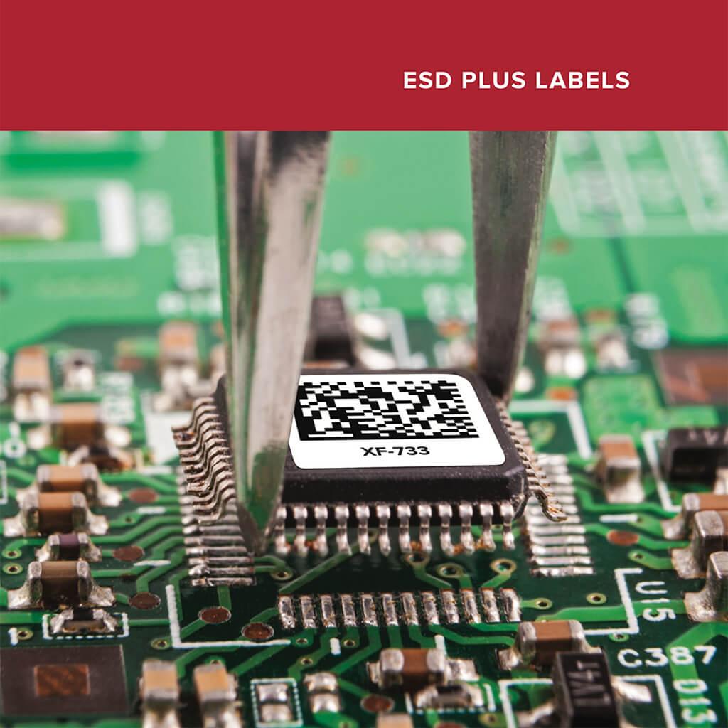 Polyonics: ESD Plus Labels