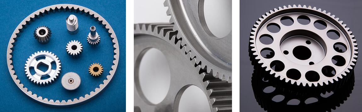 gear cutting image