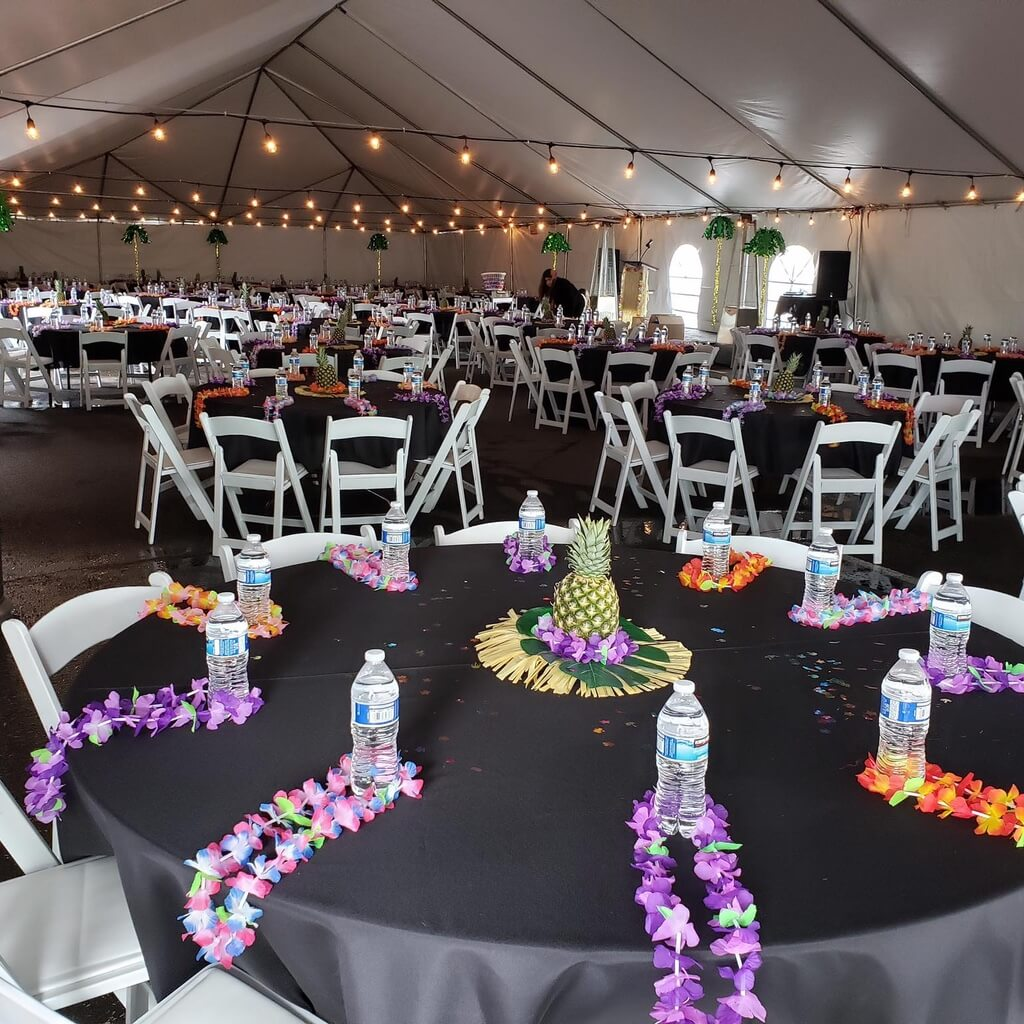 Frame tent rentals in Arizona