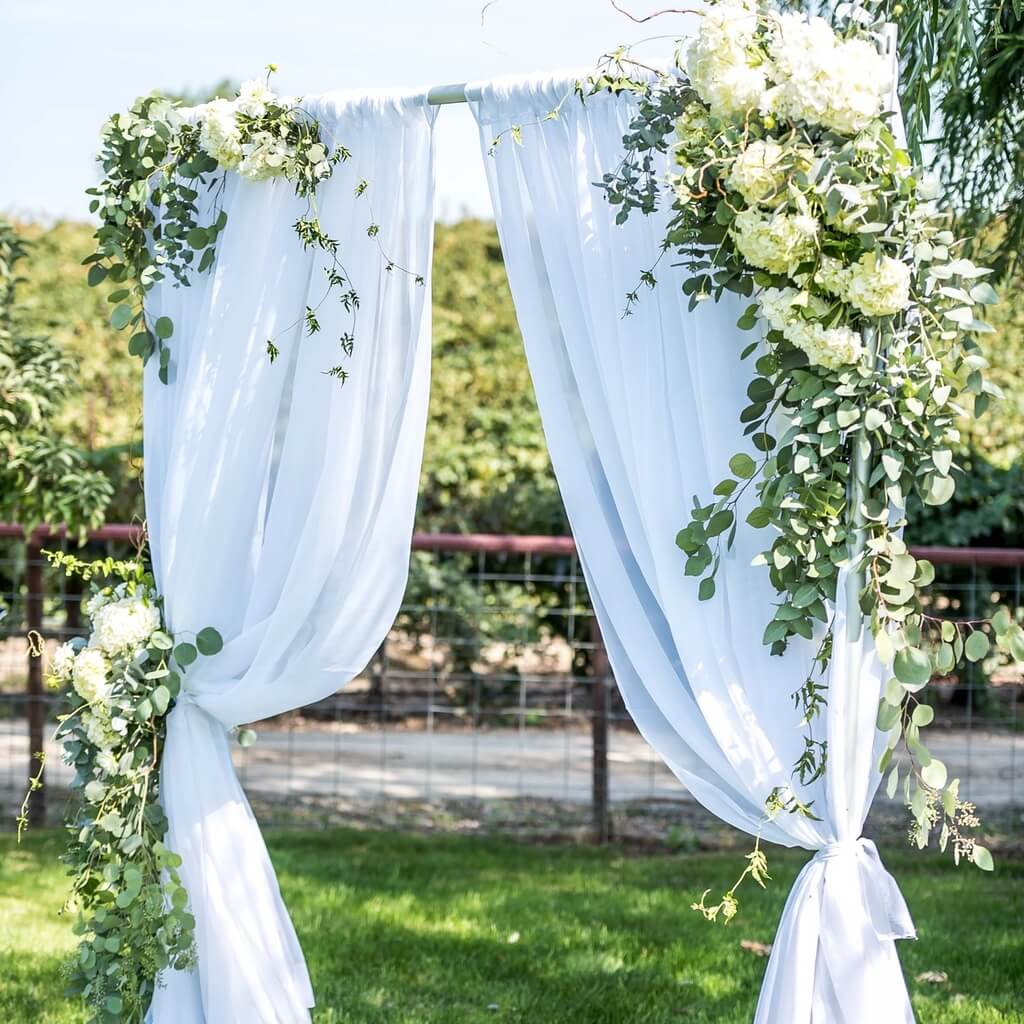 wedding rental accessories like gazebos