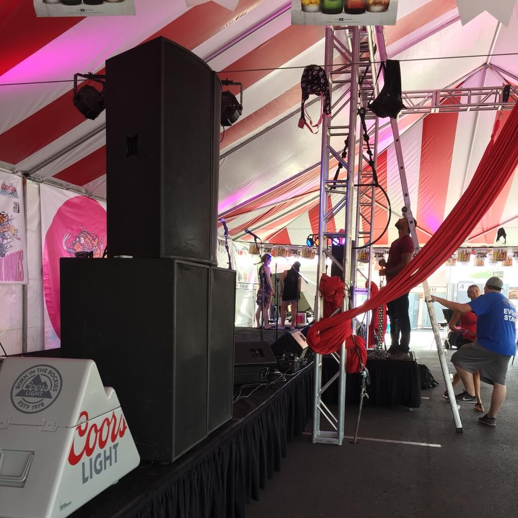 rental sound system for your Arizona wedding or party