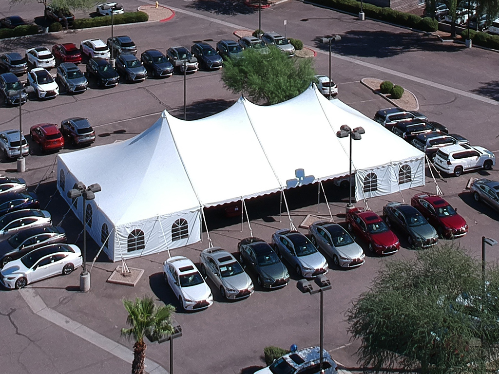 Phoenix Arizona frame tents for rent and more