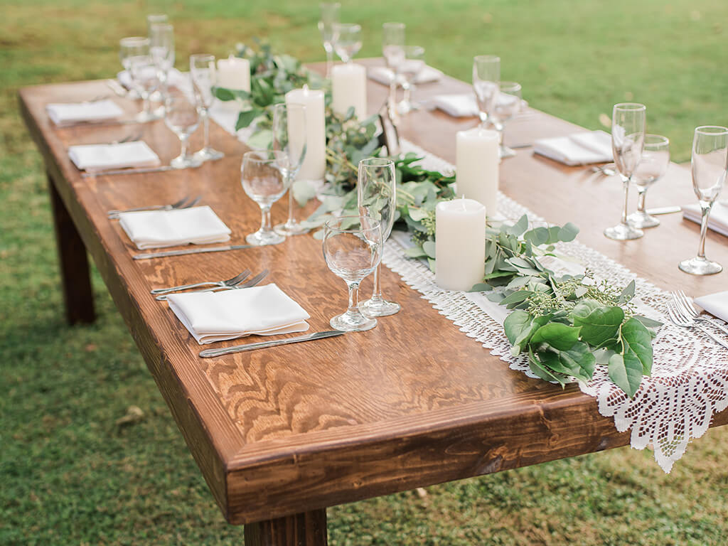 tables chairs and linen rentals in Arizona