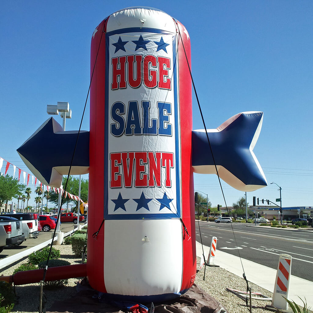 huge sale banners for rent in Arizona